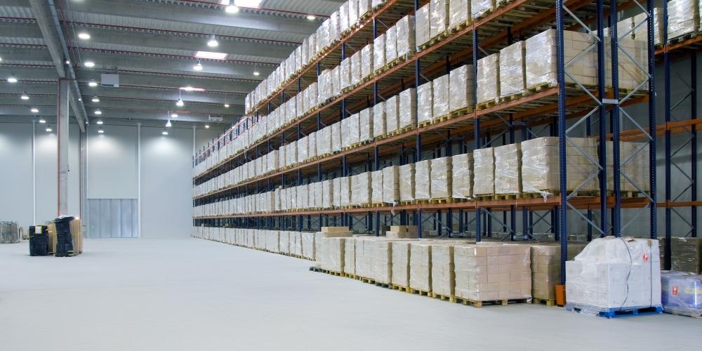 Зоны хранения на фармацевтическом складе